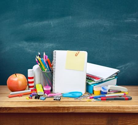 school supplies: School.