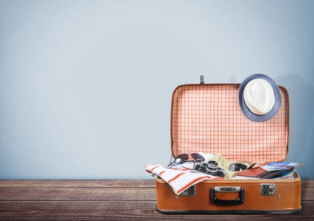reise retro: Reisen. Lizenzfreie Bilder
