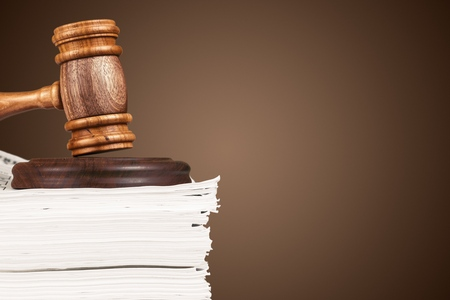 paper stack: Law.