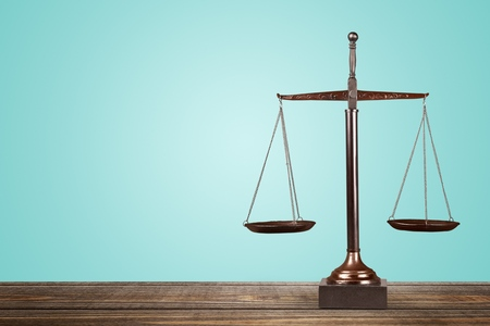 scale weight: Scales of Justice. Stock Photo
