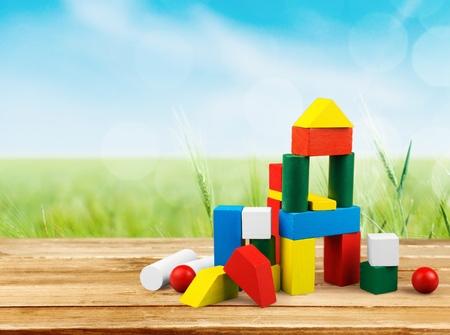 blocks: Toy. Stock Photo