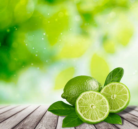 lime: Lime. Stock Photo