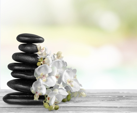 white pebble: Spa Treatment.