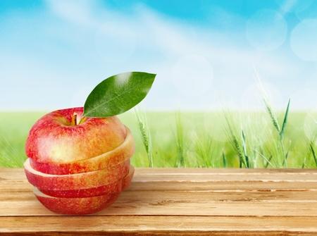food photography: Apple. Stock Photo