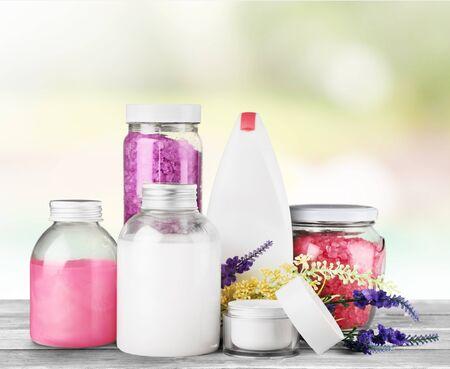 lavender coloured: Cosmetics.