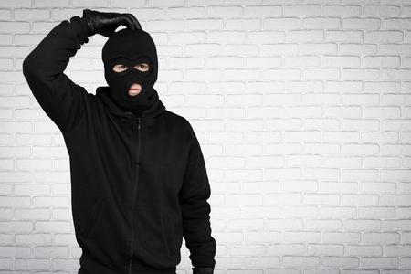burglar: Burglar. Stock Photo