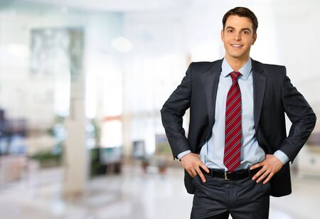 work suit: Businessman. Stock Photo