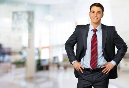 traje formal: Hombre de negocios.