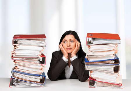 file clerk: Emotional Stress.
