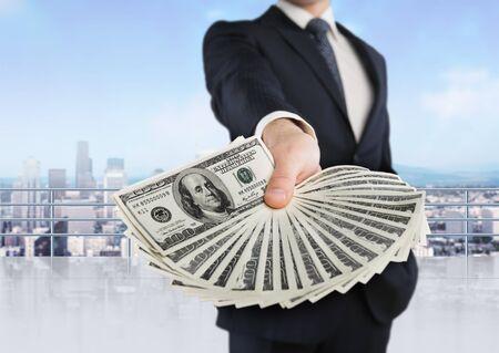 business money: Man.