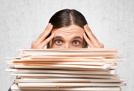 office physical pressure paper: Emotional Stress.