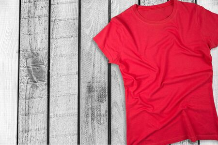 unbranded: T-Shirt. Stock Photo