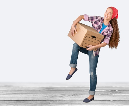 cardboard only: Moving House.