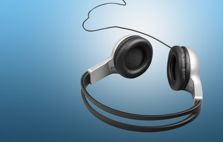 handsfree device: Headphones.