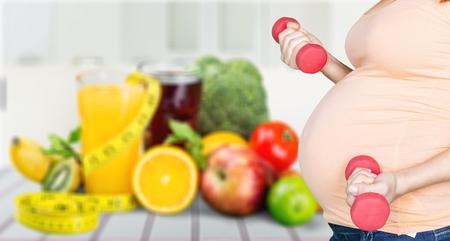 ensalada de frutas: Embarazada.