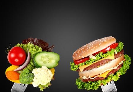 habitos saludables: Alimentos. Foto de archivo