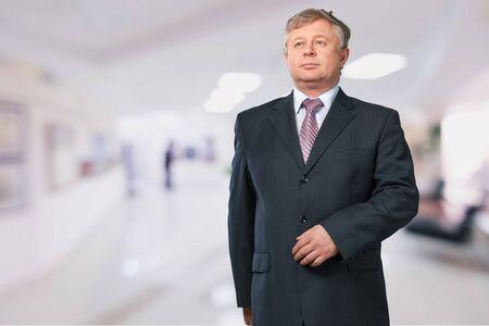 mature man: Businessman. Stock Photo
