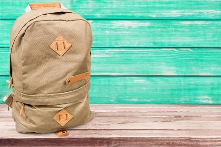 school bags: Bag. Stock Photo