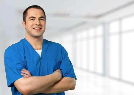 healthcare portrait: Doctor.