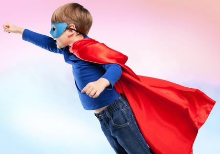 superman: Kid. Stock Photo
