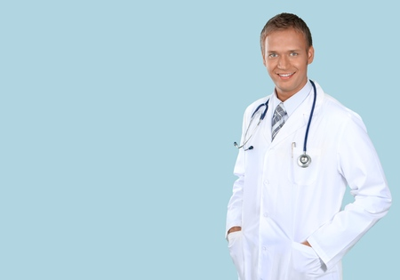 only one mid adult male: Doctor.