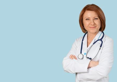enfermeras: Doctor.  Foto de archivo