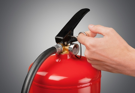 pressurized: Fire. Stock Photo