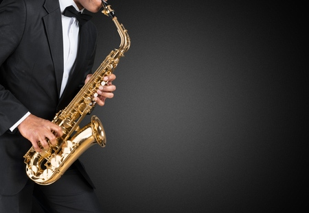 jazz modern: Sax.