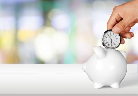 Time. Banque d'images