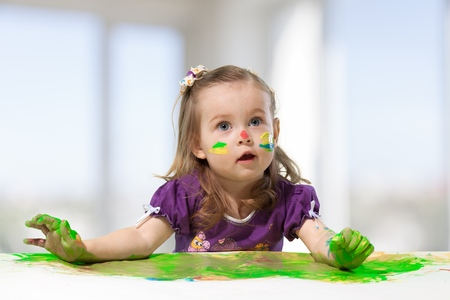 facial painting: Child.