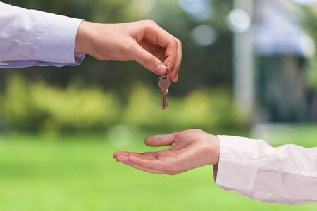 two object: Real Estate. Stock Photo