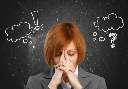 emotional grief: Women.