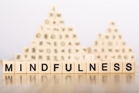 peace of mind: Yoga. Stock Photo