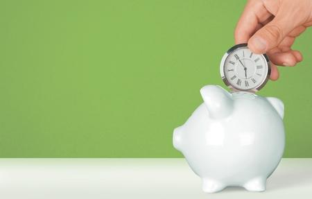 argent: Temps.  Banque d'images