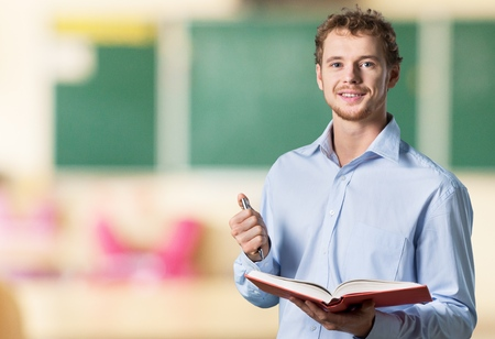 profesor: Inglés. Foto de archivo