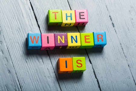 Winner. Banque d'images