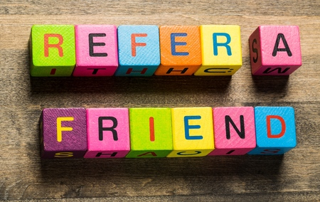 friend: Refer. Stock Photo