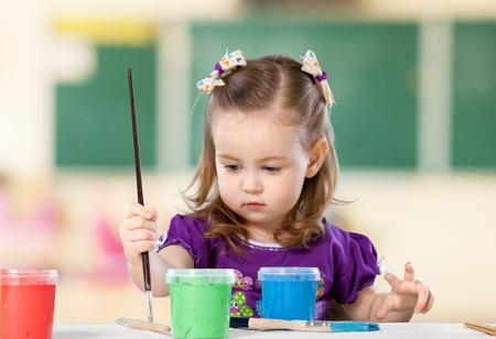 children painting: Child.