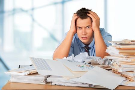 overburdened: Emotional Stress.