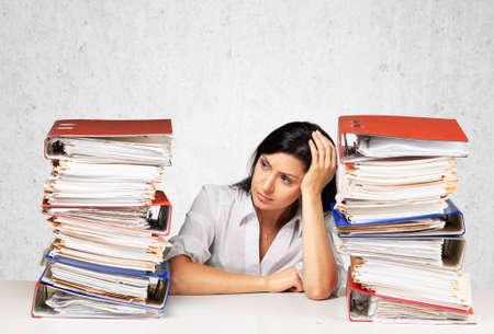 Office women: Emotional Stress.