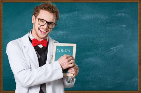 bata blanca: Scientist.