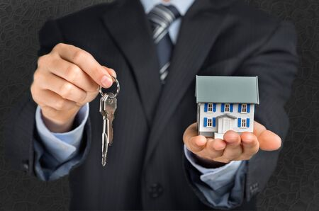residential structure: Key. Stock Photo