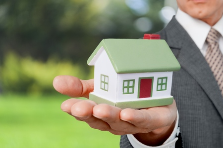 housing problems: Real Estate. Stock Photo