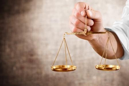 balanza justicia: Escala de peso.