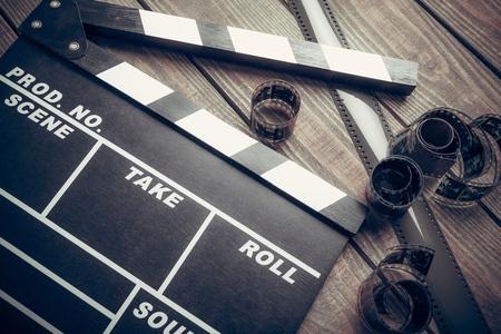 hollywood: Film. Stock Photo