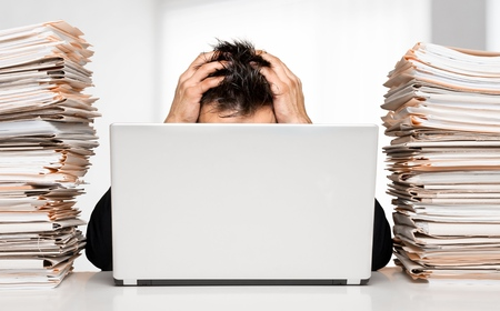 paperwork: Emotional Stress.