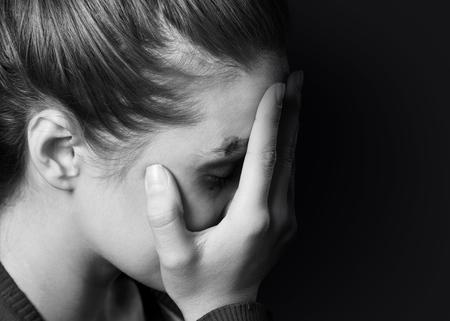 스트레스 여자 스톡 콘텐츠 - 48217304