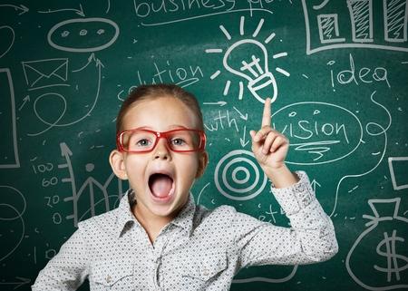 smart solutions: Boy. Stock Photo