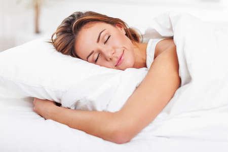 femme sexe: En train de dormir.