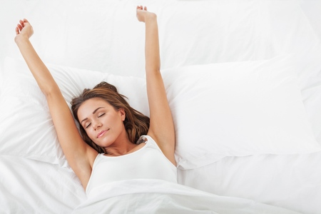 sleep well: Mattress. Stock Photo